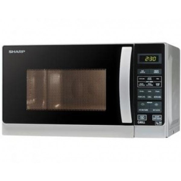 sharp r 62a0 microwave oven with grill 7 cu ft 20 liters 220 volts