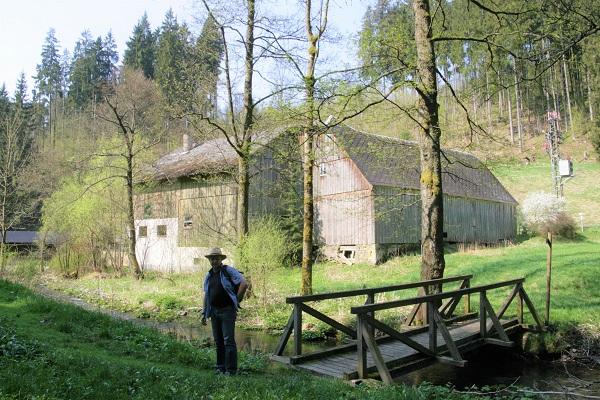 Der Mühlenweg im Frankenwald
