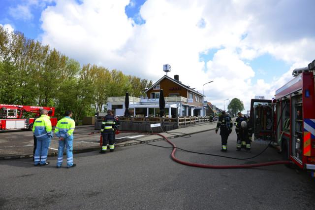 Leimuiden: Brand in Grand Cafe de Parel