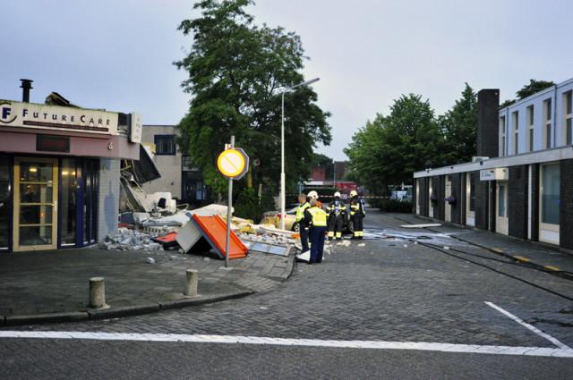 Rijsenhout: Gebouw bijna weggevaagd na plofkraak