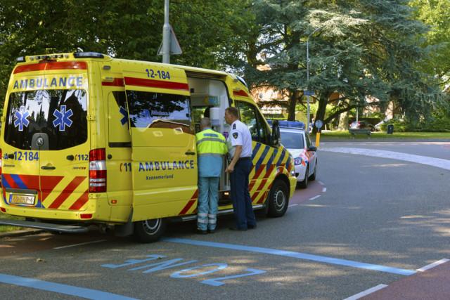 Badhoevedorp: Fietser gewond bij aanrijding
