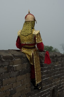 Mutianyu Great Wall of China Soldier