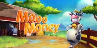 save money - Animated picture of a colorful cow saying mooo money