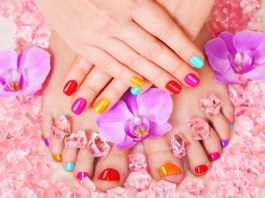 From cracked feet to Pretty colorful feet, toes and nails