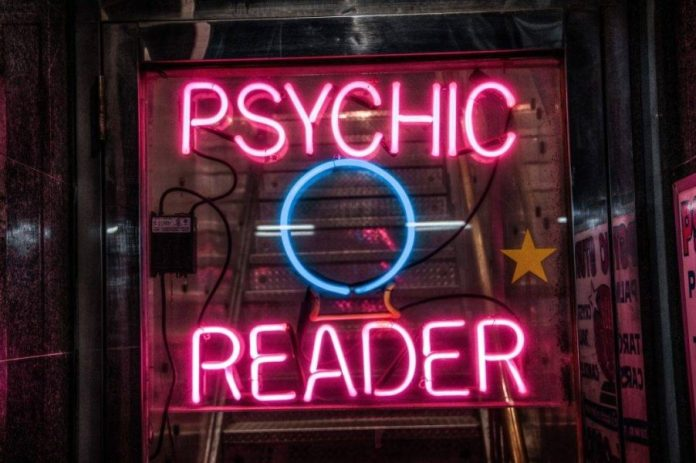 ever been scammed psychic reader sign