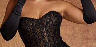 Quinn Lace Corset Lingerie and Intimates