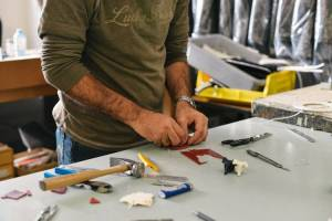 Spruce Up Your Relationship With a Simple Outdoor Project Man with tools is great to find