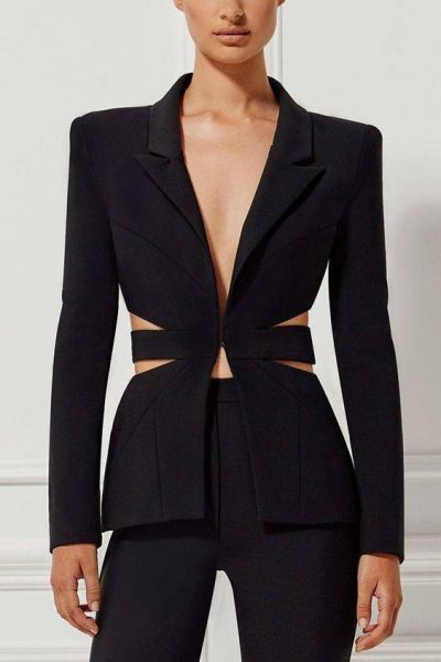 Meghan Markle's royal fashion style black pantsuit