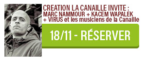 Création Marc Nammour la Canaille concert Carcassonne