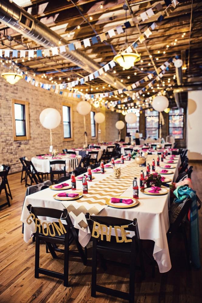 Hyatt Regency Bloomington Bride Groom Wedding Reception Decor