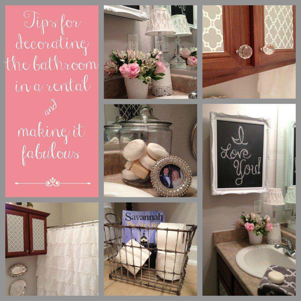 Our New Home--The Powder Room/Guest Bathroom | 11 Magnolia ... on Bathroom Apartment Ideas  id=71983