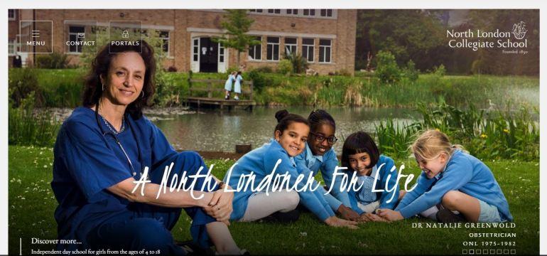 North London Collegiate School home Page