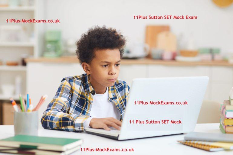 11Plus-Sutton-SET-Mock-Exam