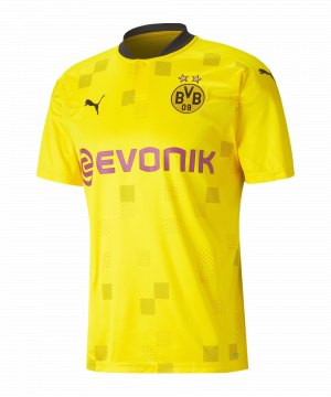 PUMA BVB Dortmund Trikot CUP 2020/2021 Gelb F01
