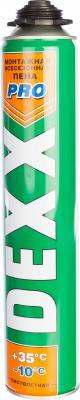 Пена монтажная DEXX PRO 750мл полиуретановая всесезонная