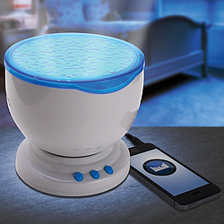 Color Changing LED Wave Projector