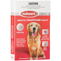 Nuheart Generic Heartgard for Large Dogs
