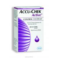 AccuChek Active 2 Level Glucose Control Solution
