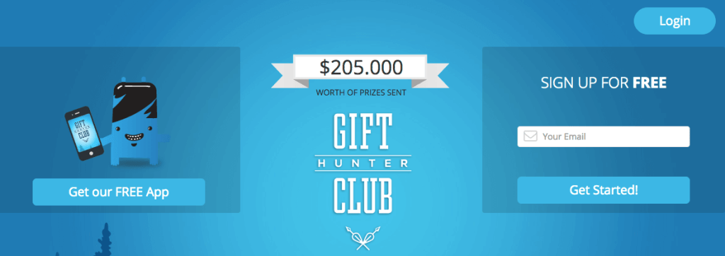 Gift Hunter Club, consigue dinero por internet