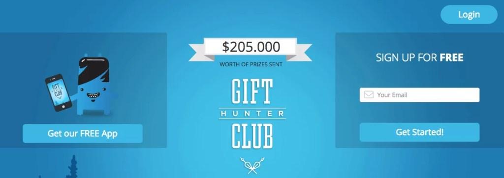 Gift Hunter Club, consigue dinero por internet