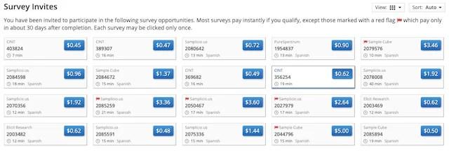 ganar dinero con encuestas remuneradas