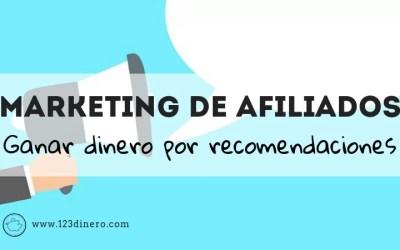 Marketing de afiliación: recomienda un producto y ganar dinero