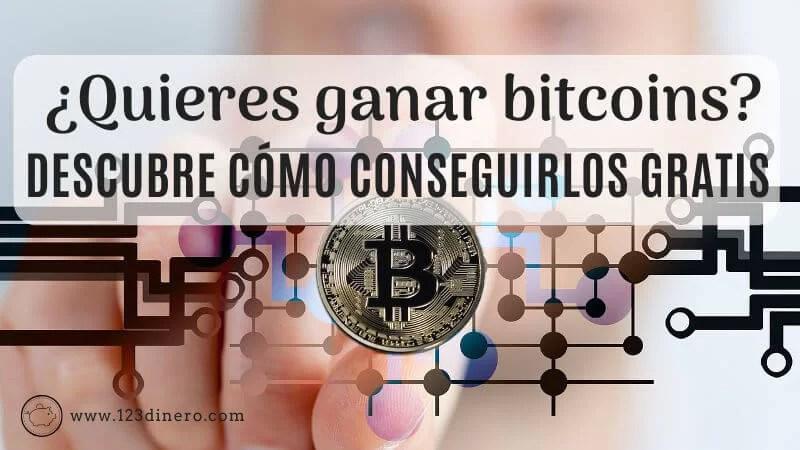 ¿Cómo y dónde ganar bitcoins gratis?