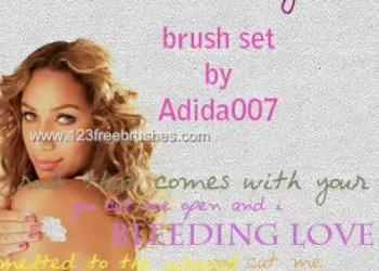 Leona Lewis Lyrics Brushes