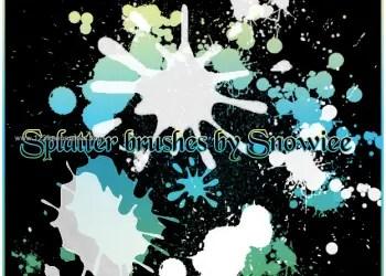 Ink Splatter Paint 77