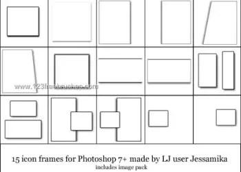 Icon Frames Set
