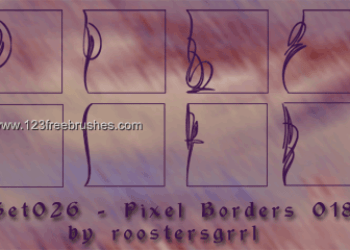 Ornate Border Corners 12