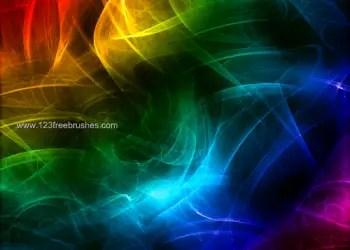 Rainbow Abstract Fractal