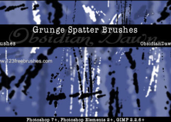Grunge Spatters