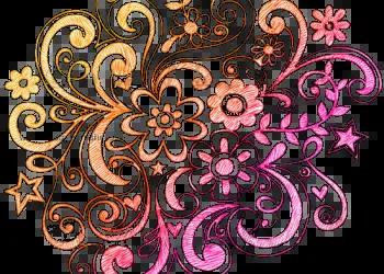Notebook Doodle Flowers