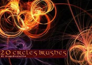 Abstract Circle Fractal