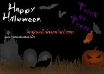 Free Adobe Photoshop Halloween Brushes