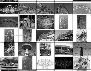 Ferris Wheel Photoshop Brush
