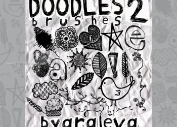 Handmade Scribbles and Doodles  2