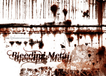 Bleeding Metal Rust