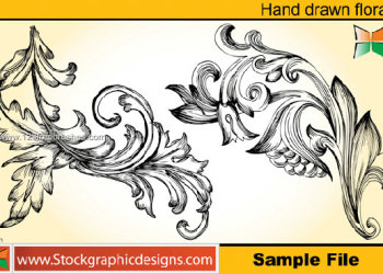 Hand Drawn Floral Photoshop Brushes