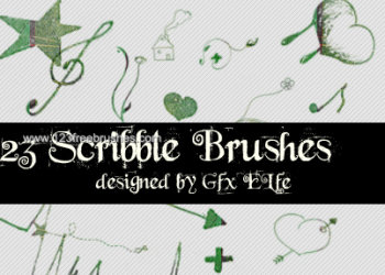 Ink Scribbles 12