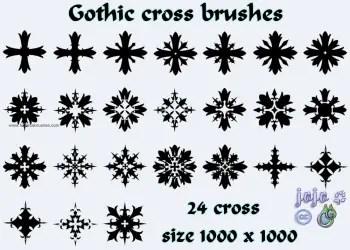 Gothic Cross 1