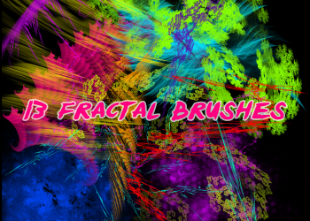 Abstract Art Brushes Photoshop