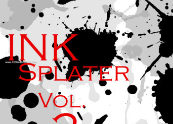 Ink Splatter 7