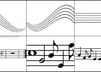 Brushes Photoshop Musical Notes