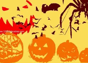 Free Halloween Brushes Photoshop 7