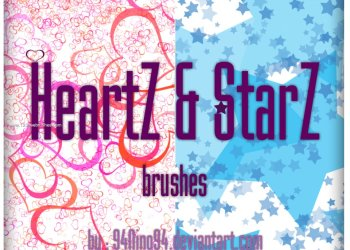 Love Heart and Stars