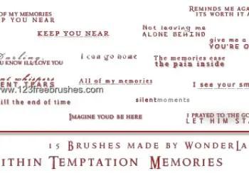 Within Temptation – Memories