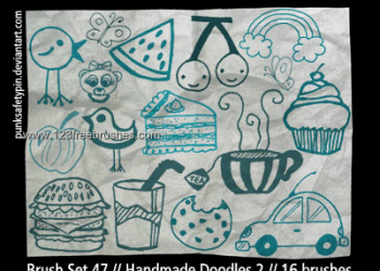 Kids Drawing Handmade Doodles
