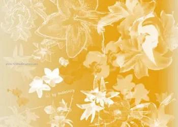 Flower Brushes Photoshop Mac